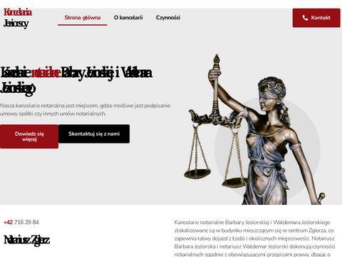 Jeziorscy notariusz Łódź