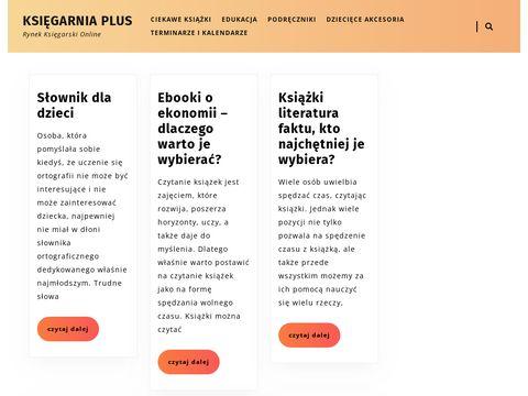 Księgarnia online ksiegarniaplus.pl