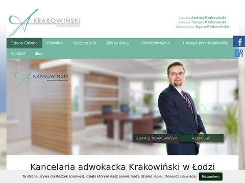 Andrzej Krakowiński odszkodowania