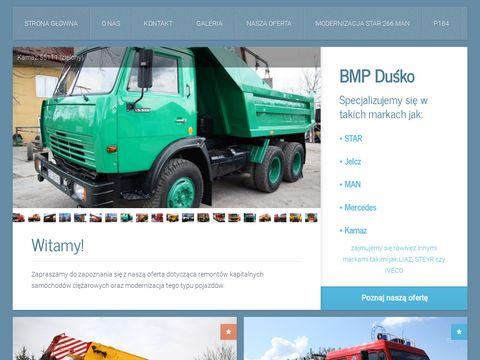 Bmp Duśko - modernizacja ciężarówek