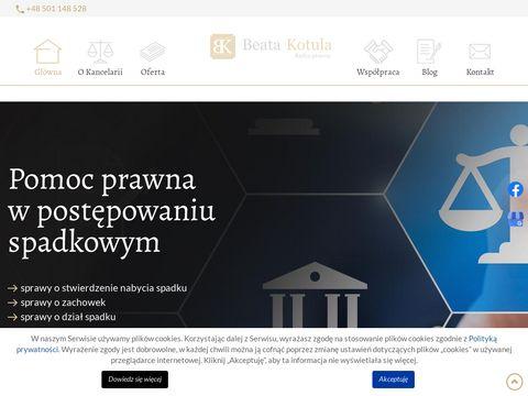 Kancelariaprawnabek.pl