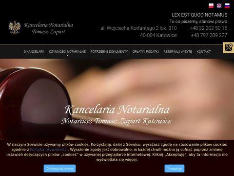 Katowicenotariusz-zapart.pl