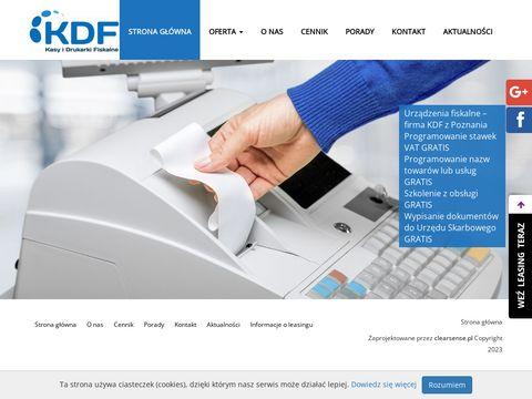 KDF systemy dla gastronomii