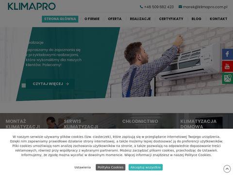 Klimapro.com.pl chłodnictwo