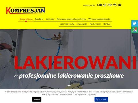 Kompresjan serwis sprężarek Wrocław