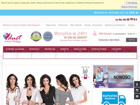 Duet - bielizna damska sklep online