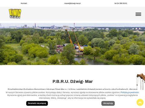 Dźwig-Mar samochody ciężarowe