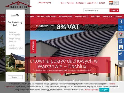 Dachlux dachówka Warszawa