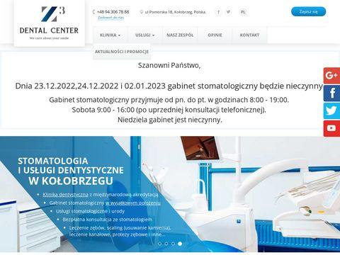 Dental Center Z3 odbudowa zębów