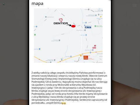 Dentica chirurg szczękowy Zawiercie
