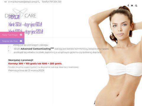 Depicare.pl depilacja nóg