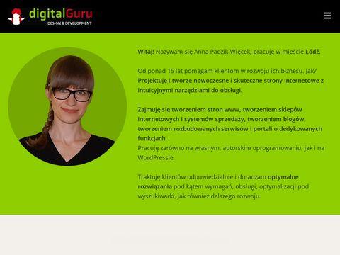 Digital Guru - strony www Łódź