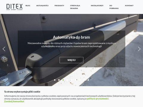 Ditex.com.pl napędy do bram
