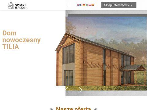 Budowa domków drewnianych