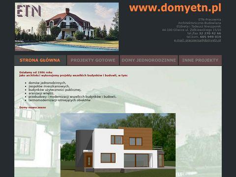 Projekty domów Śląsk
