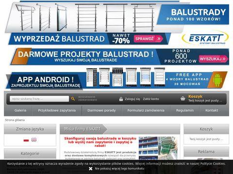 Eskatt.pl - projektowanie balustrad