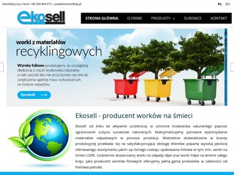 Ekosell.pl wyroby foliowe