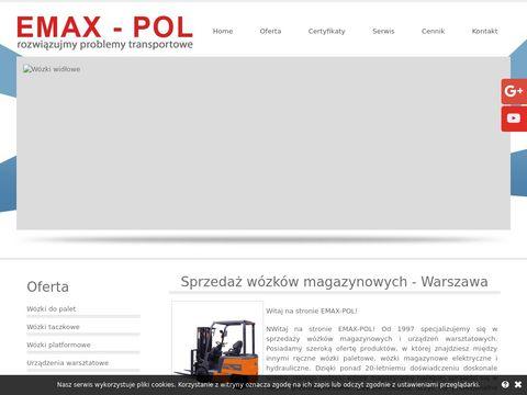 Emax-Pol wózki platformowe