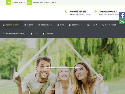 Freshairhome.pl klimatyzacja domowa