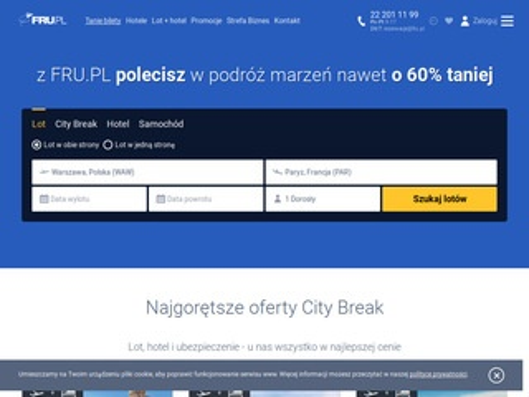 Fru.pl bilety lotnicze
