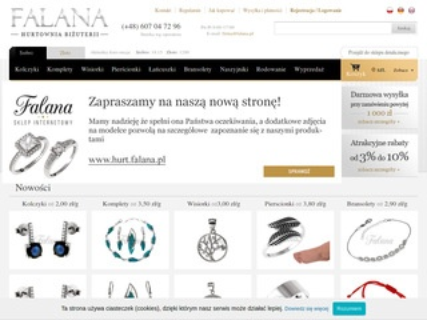 Falana.pl - biżuteria srebrna