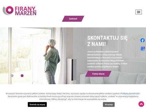 Firany Marzeń szycie Szczecin