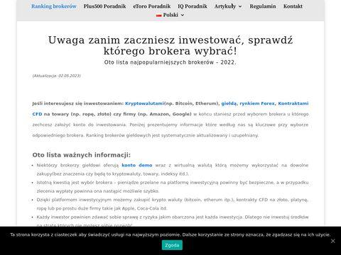 Forex inwestycje online