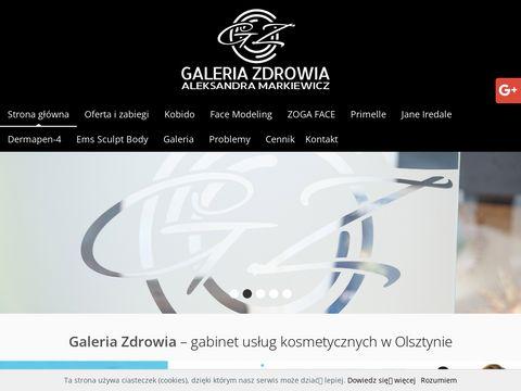 Galeria Zdrowia kapsuła spa Olsztyn