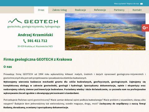 Geotech dokumentacje geologiczne