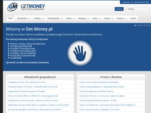 Pożyczki pozabankowe Get-Money.pl