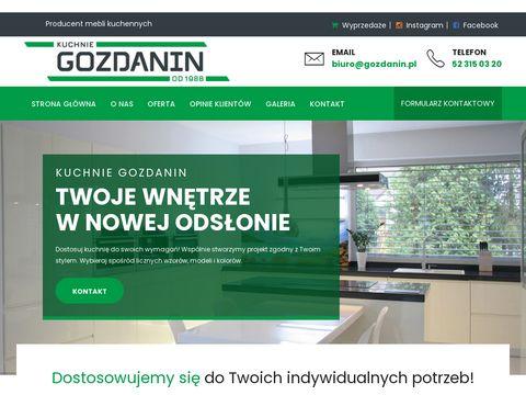 Meble kuchenne Poznań - Gozdanin
