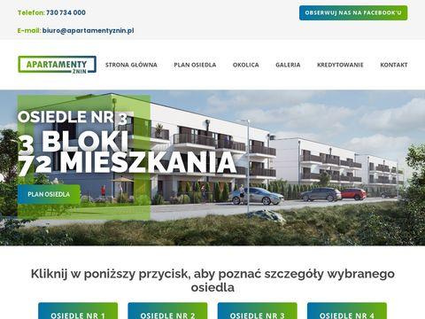 Apartamentyznin.pl na sprzedaż
