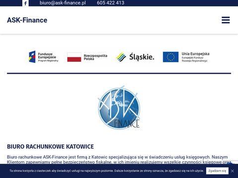 ASK-Finance księgowa Katowice
