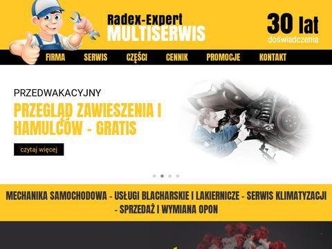 Radex Expert blacharz Szczecin