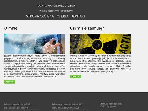 Atom-Lab ochrony radiologicznej