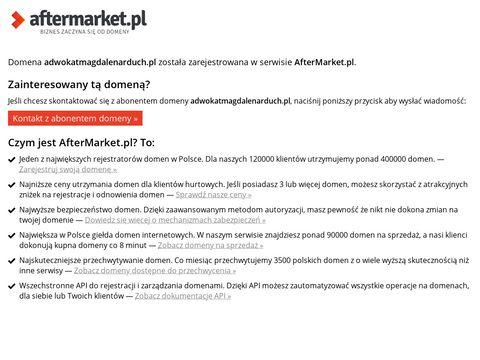Adwokatmagdalenarduch.pl