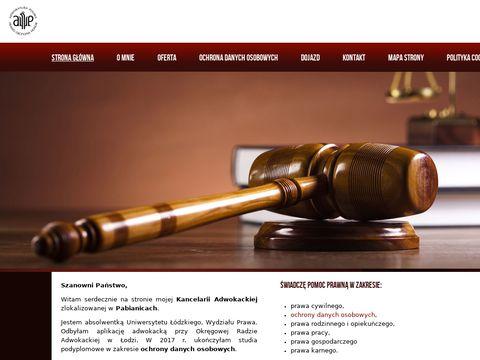 Adwokat w Pabianicach