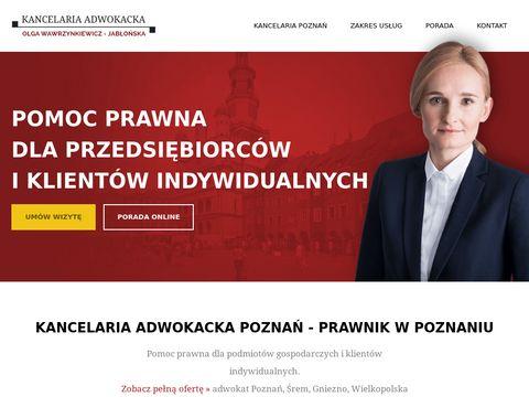 Prawnik w Poznaniu
