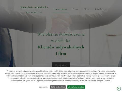 Adwokacitarnobrzeg.pl