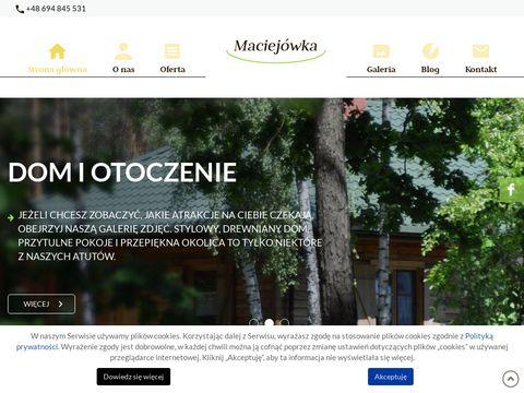 Agroturystyka-maciejowka.com