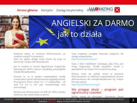 Angielskizdofinansowaniem.pl dla firm z dotacją