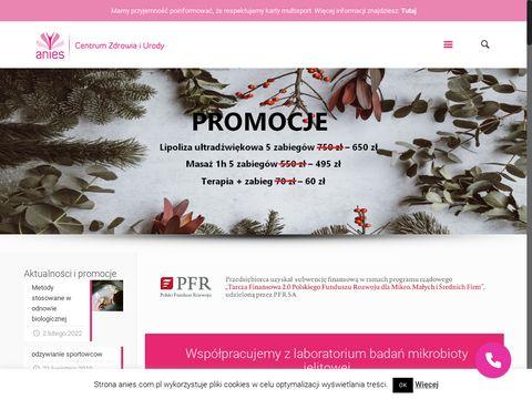 Mezoterapia igłowa - Anies Poznań