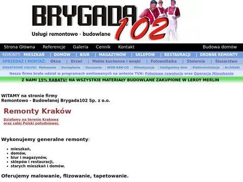 Remonty Kraków Brygada102