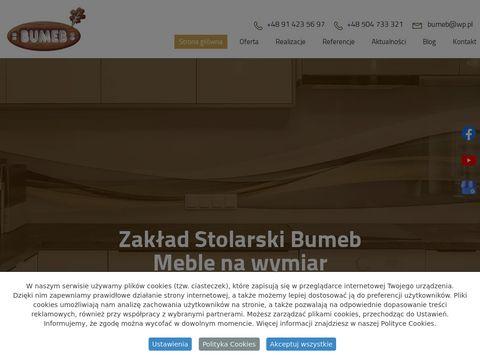 Bumeb szafy garderoby Szczecin
