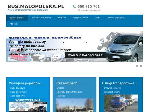 Wynajem busów w Polsce i za granicą
