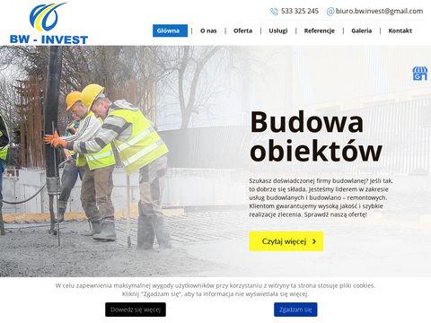 Bw-invest.pl budowa pod klucz