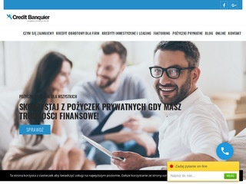 Kredyty dla firm z Credit Banquier