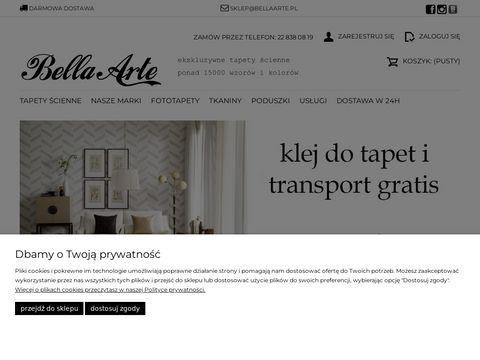 Bellaarte.pl ekskluzywne tapety