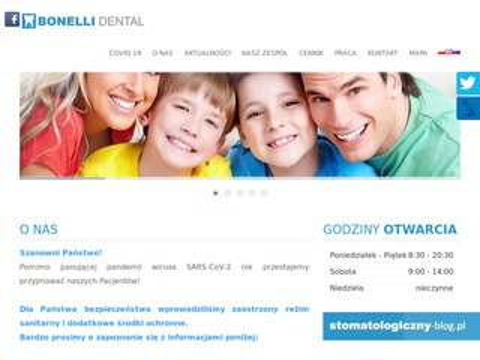 Bonelli-dental.pl dentysta Warszawa