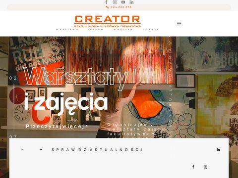 Creator - kursy i szkolenia